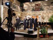 Recording at Day Star TV