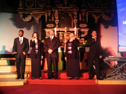 Blessing small east german churches
